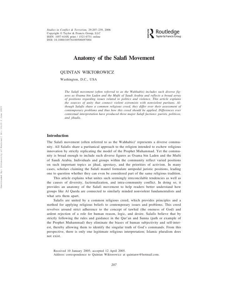 Studies in Conflict & Terrorism, 29:207–239, 2006                                                                Copyright...