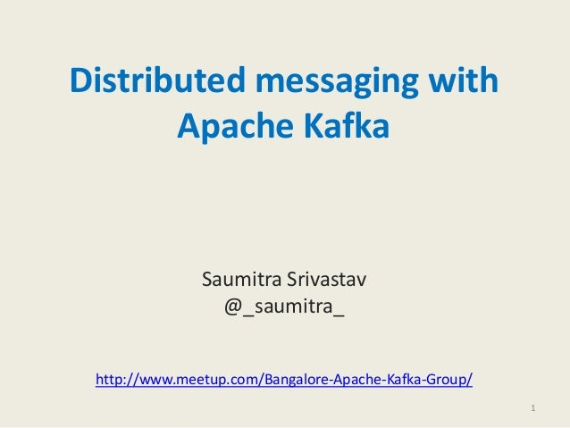 Distributed messaging with Apache Kafka