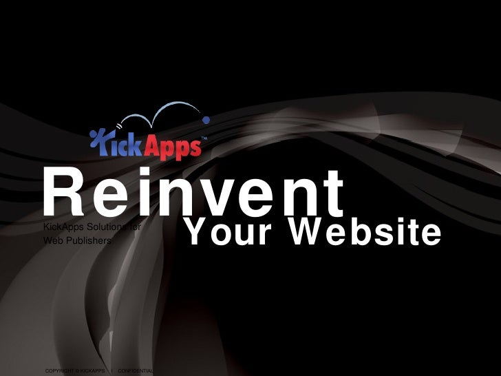 KickApps For Web Publishers