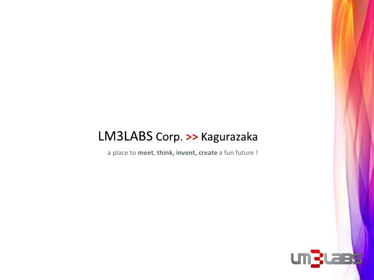 Kagurazaka New Offices LM3LABS