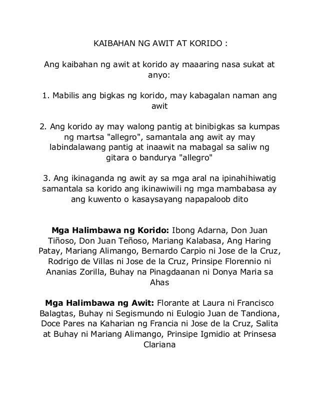 salita sa buhay ni mariang alimango Ang awit ay isang uri ng tulang pasalaysay na binubuo ng tig- aapat na taludtod  ang bawat  salita at buhay (ni mariang alimango) • prinsipe igmidio at.