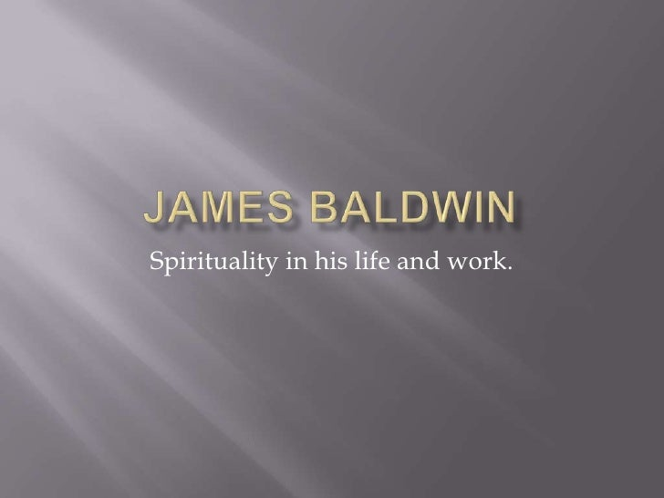 Spirituality in his life and work.
