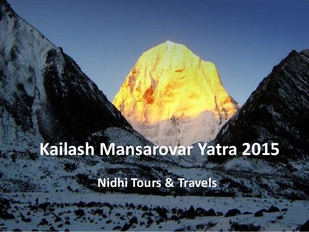 Kailash Yatra 2015 Kailash Mansarovar Yatra 2015