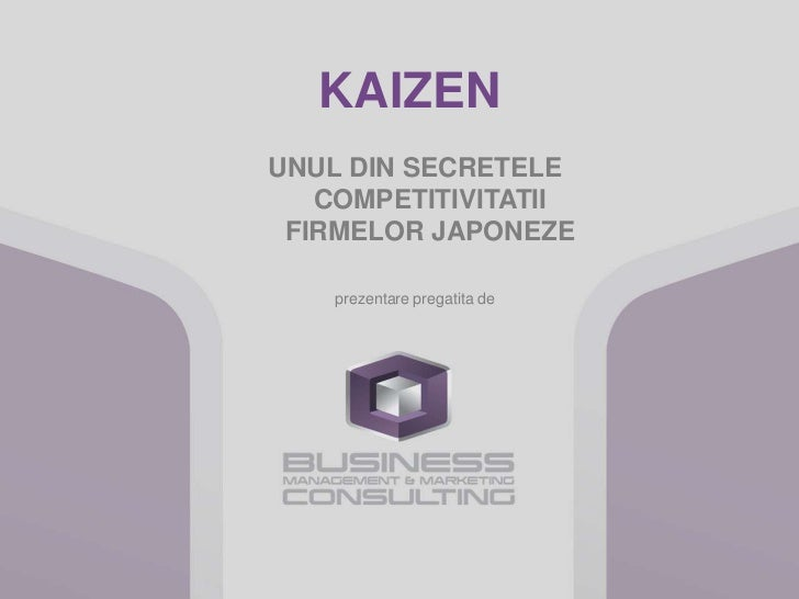 Kaizen - 5 S