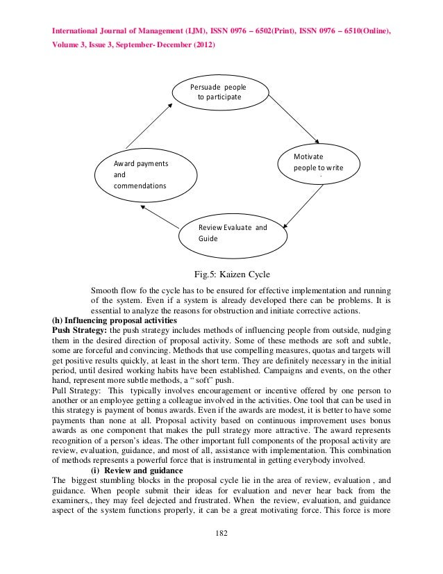 kaizen case study Learning from less successful kaizen events: a case study harouna amadou quan zhang joseph taillon isye 450/550 spring 2011 stated problems no study was done to.