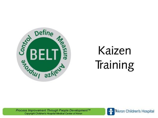 Kaizen Training