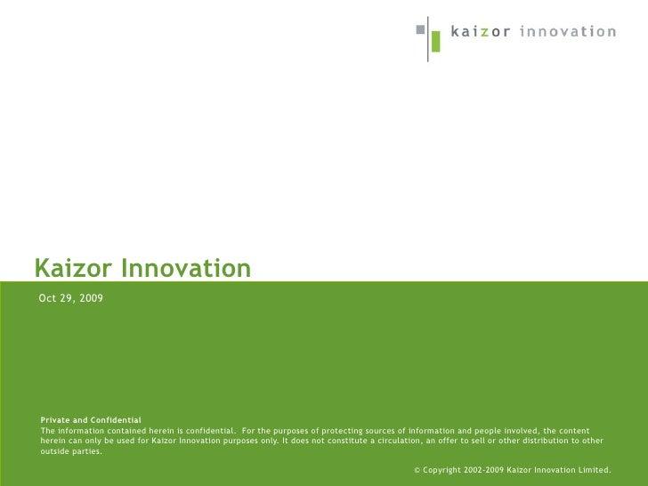 Kaizor Profile