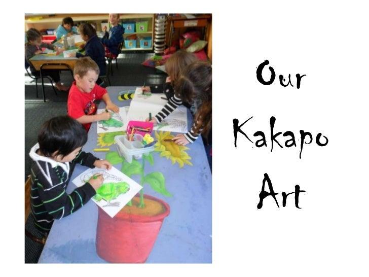 Our AMAZING Kakapo art
