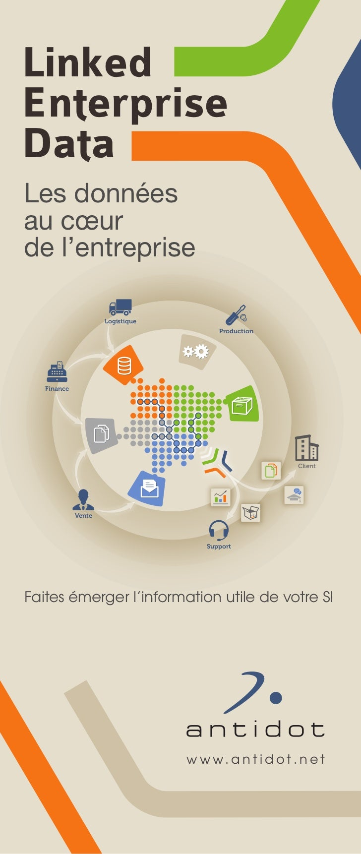 Linked Enterprise Data poster - French