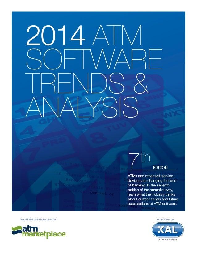 Kal ATM software trends 2014