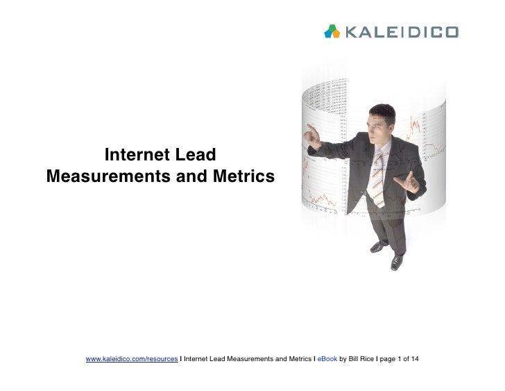 Kaleidico Lead Metrics