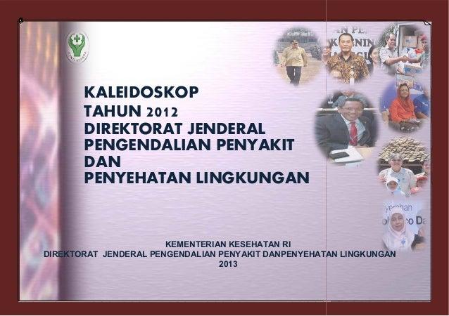 Kaleidoskop 2012 Ditjen PP dan PL