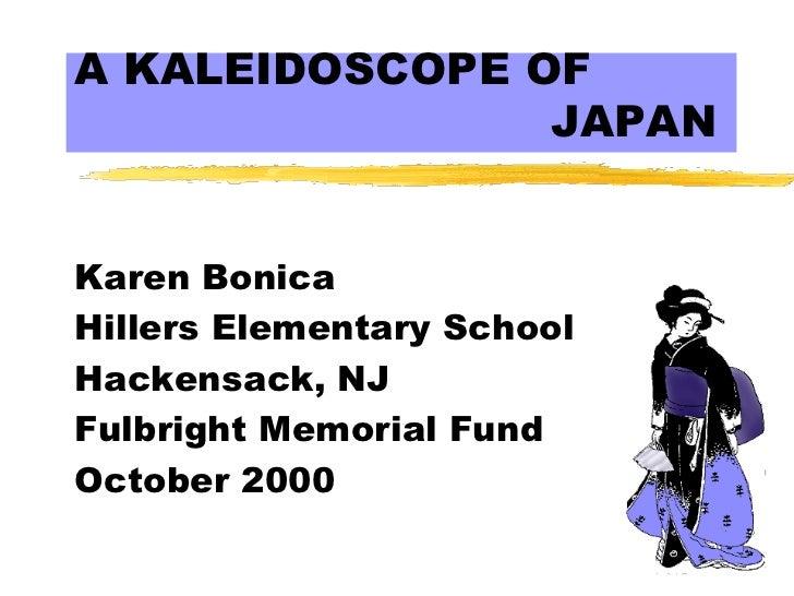 Karen Bonica Japan