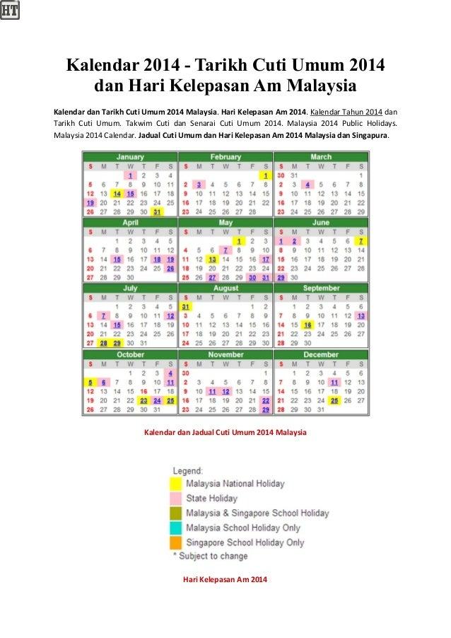 kalendar 2014 tarikh cuti umum 2014 dan hari kelepasan academia edu is