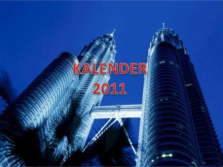 KALENDER<br />2011<br />
