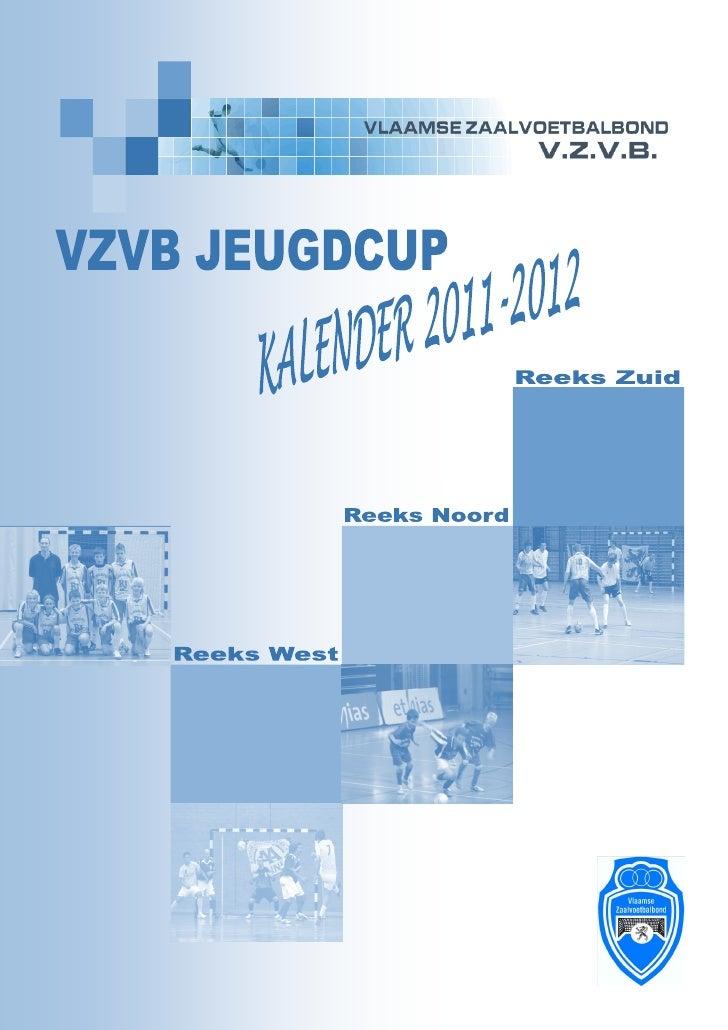 Kalenderboek jeugdcup 2011 2012