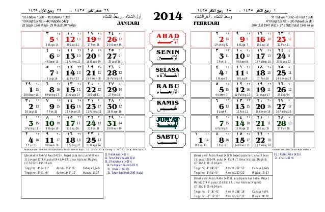 Kelender 2014 Jawa | New Calendar Template Site