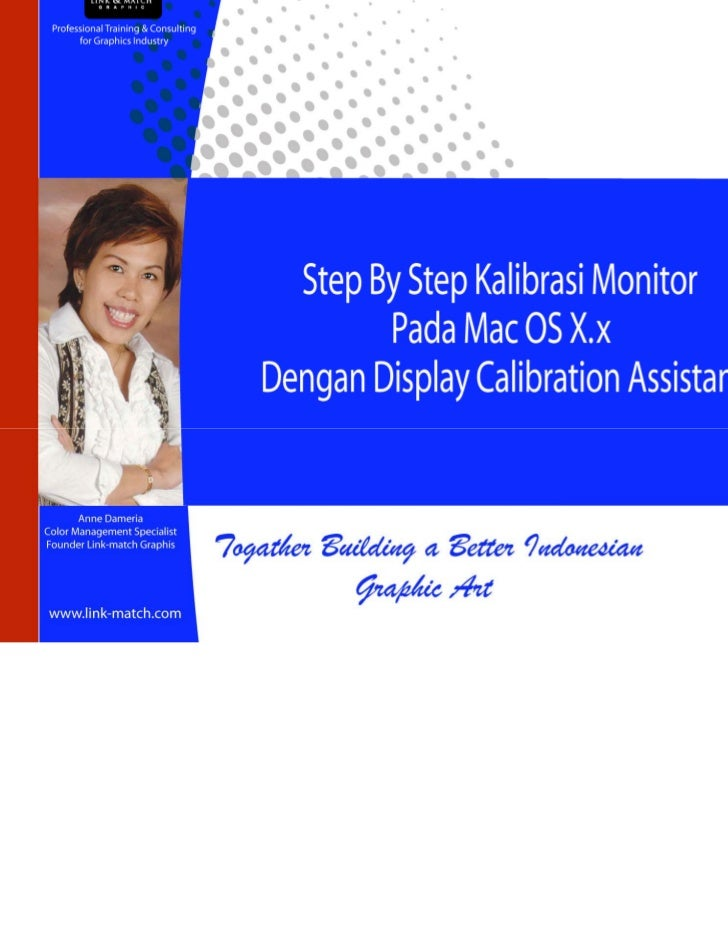 Kalibrasi monitor dgn gamma for mac