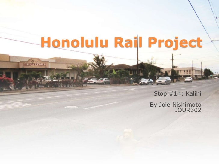 Honolulu Rail Transit - Kalihi Station