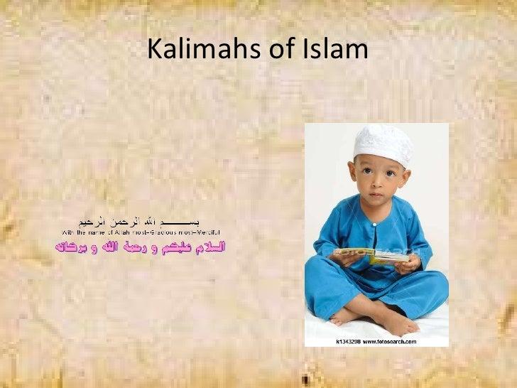 Kalimahs of Islam
