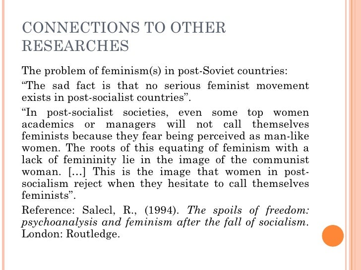 phd thesis on feminism