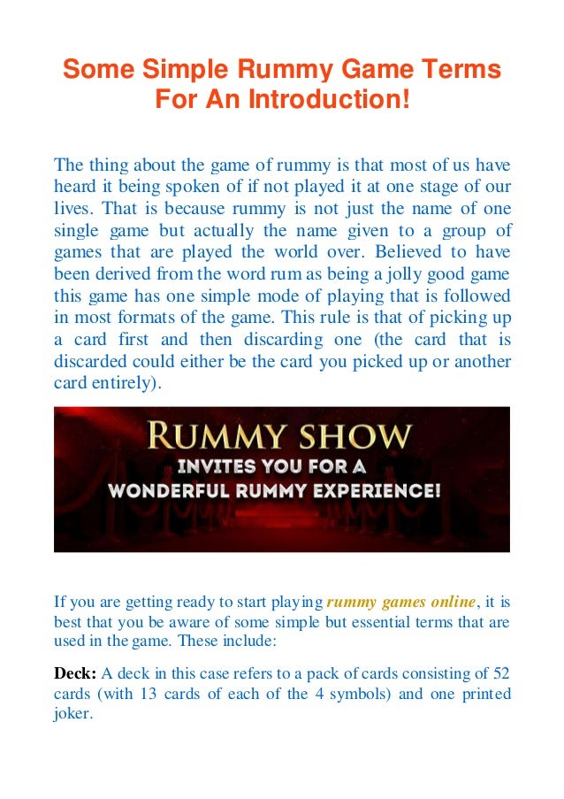 Gin Rummy Rules And Guides Various Poker Games Play The Greatest