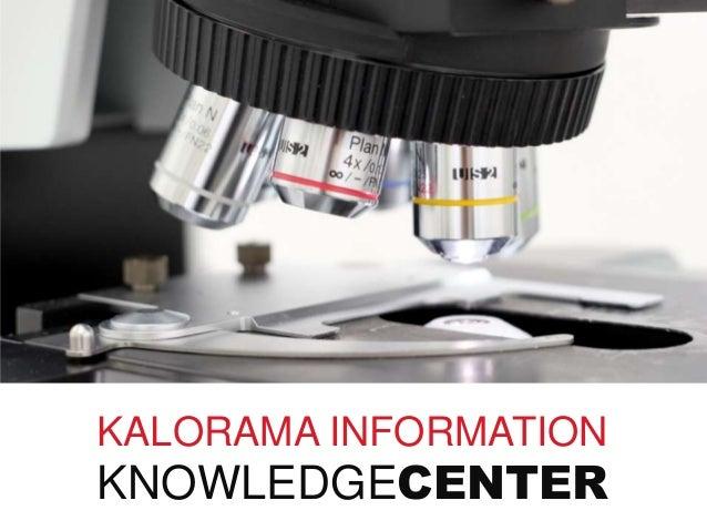 KALORAMA INFORMATION KNOWLEDGECENTER