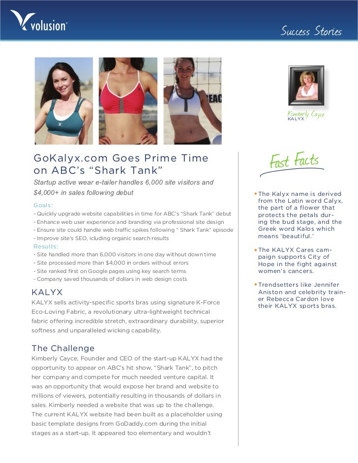 Success Stories                                                                                         Kimberly Cayce    ...