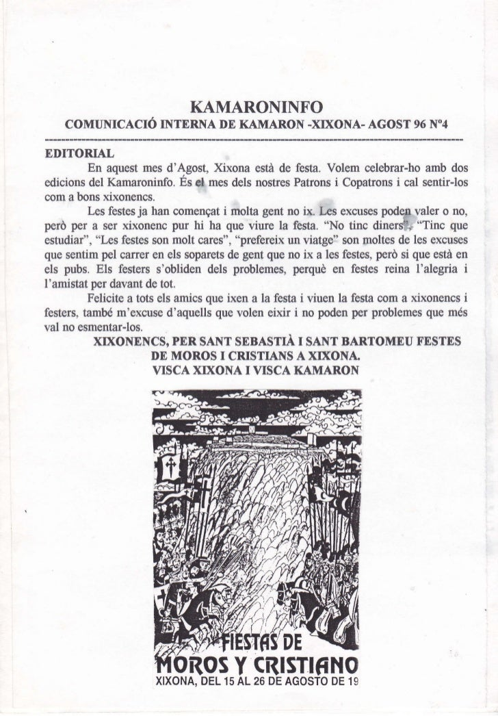 Kam. núm. 4 agost 1996