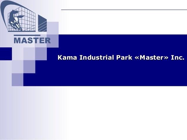 "Kama Industrial Park ""Master"""