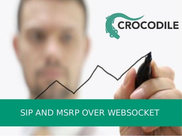 SIP AND MSRP OVER WEBSOCKET 1