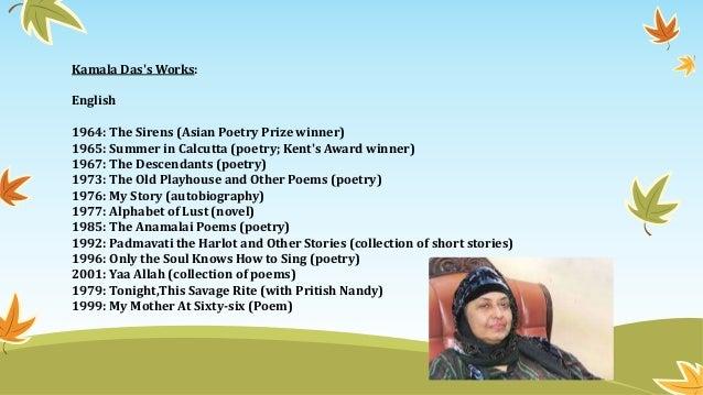 Back > Gallery For > Kamala Surayya Poems In Malayalam
