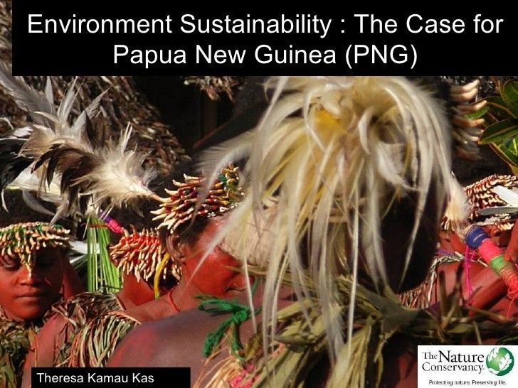Environment Sustainability : The Case for       Papua New Guinea (PNG)Theresa Kamau Kas