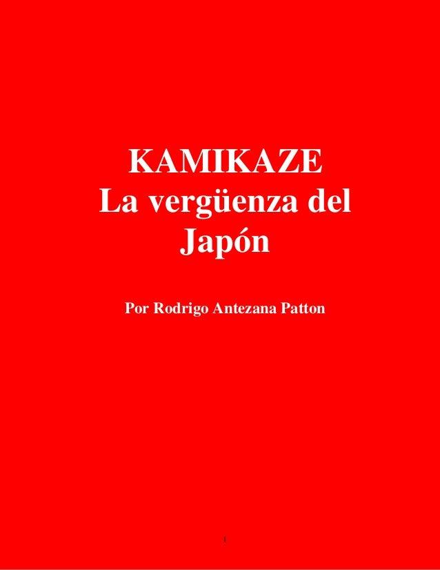 Kamikaze - La vergüenza de Japón