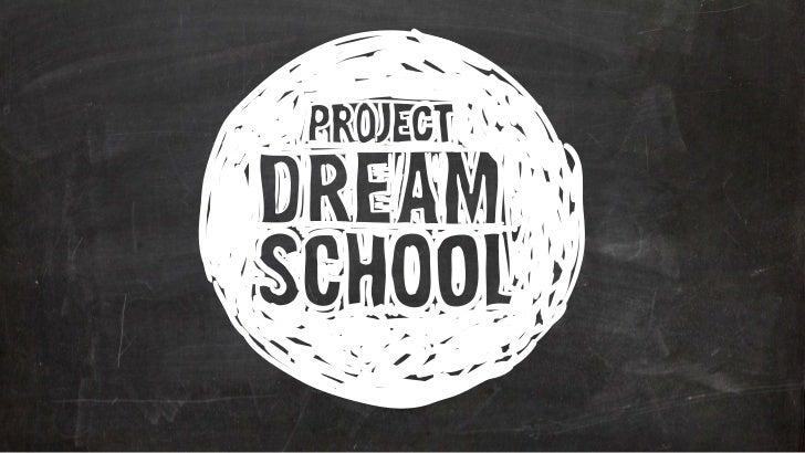 Trendsfactory 2012: Project Dreamschool - Marcel Kampman