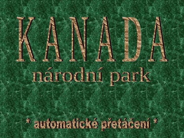 Kanadanarodnipark Car