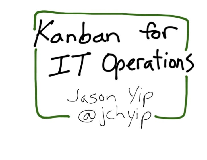 Kanban for IT Operations