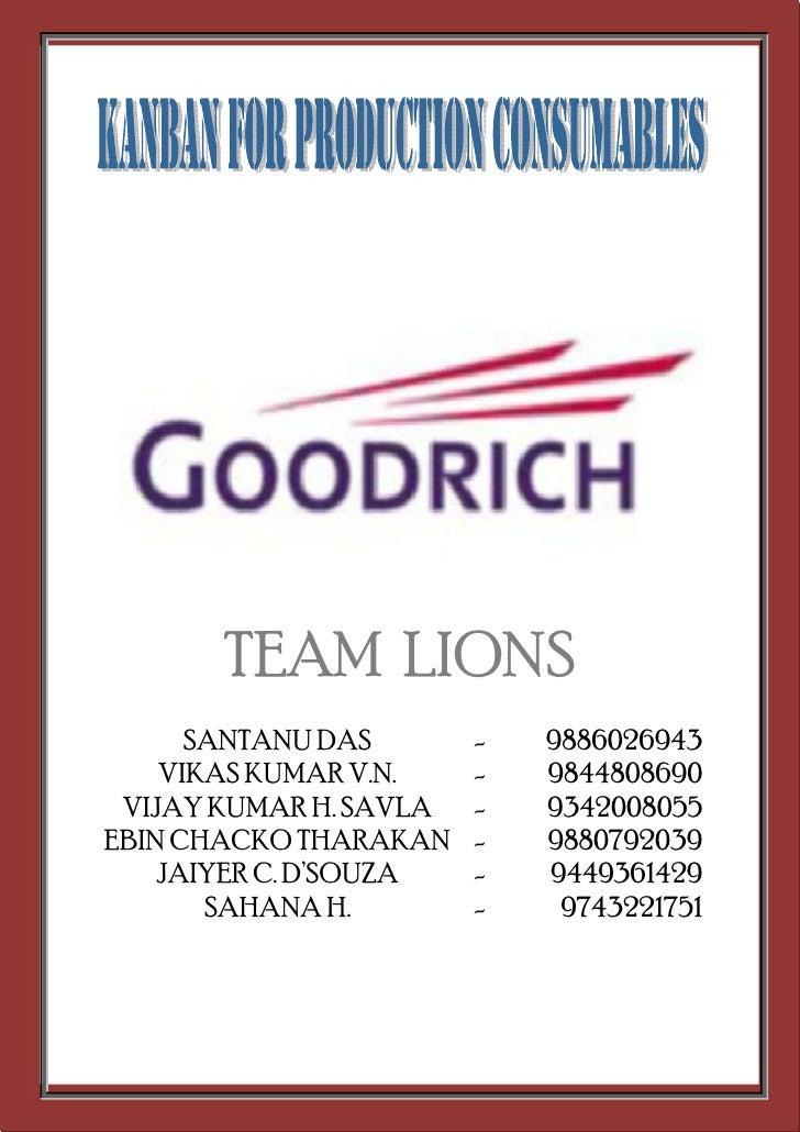 TEAM LIONS       SANTANU DAS       -   9886026943     VIKAS KUMAR V.N.    -   9844808690  VIJAY KUMAR H. SAVLA   -   93420...