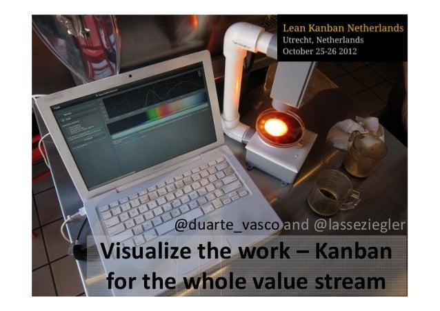 @duarte_vasco and @lassezieglerVisualize the work – Kanbanfor the whole value stream