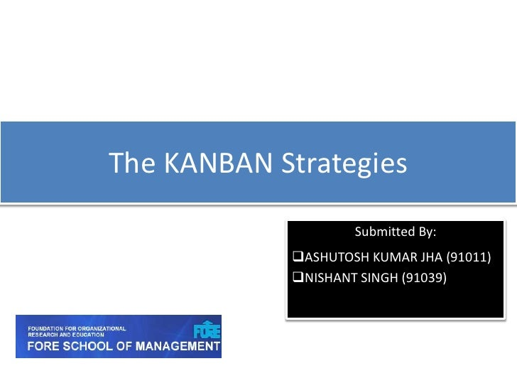 Kanban strategies