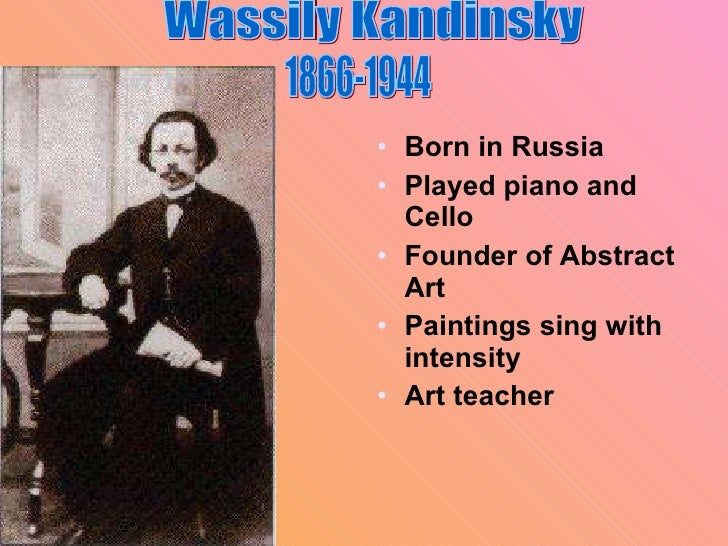 Kandinsky lesson(4th and 5th )