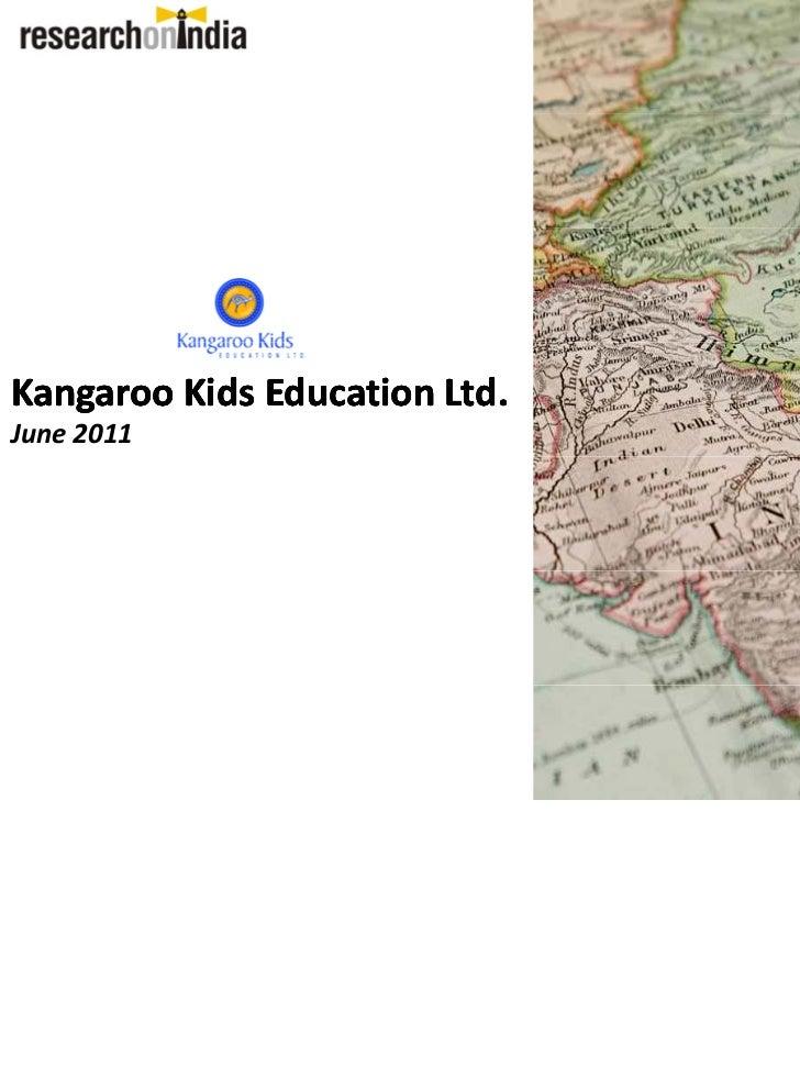 Kangaroo Kids Education Ltd. - Company Profile