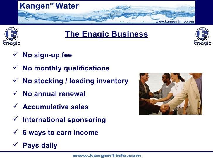 Enagic Business The Enagic Business  no