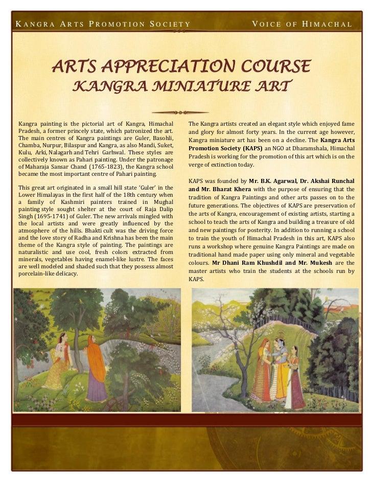 KANGRA ARTS PROMOTION SOCIETY                                                            VOICE         OF    HIMACHAL     ...