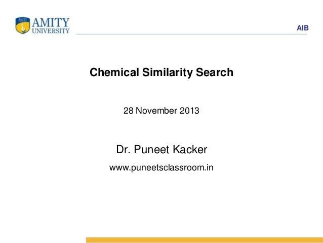 Chemoinformatics Practical