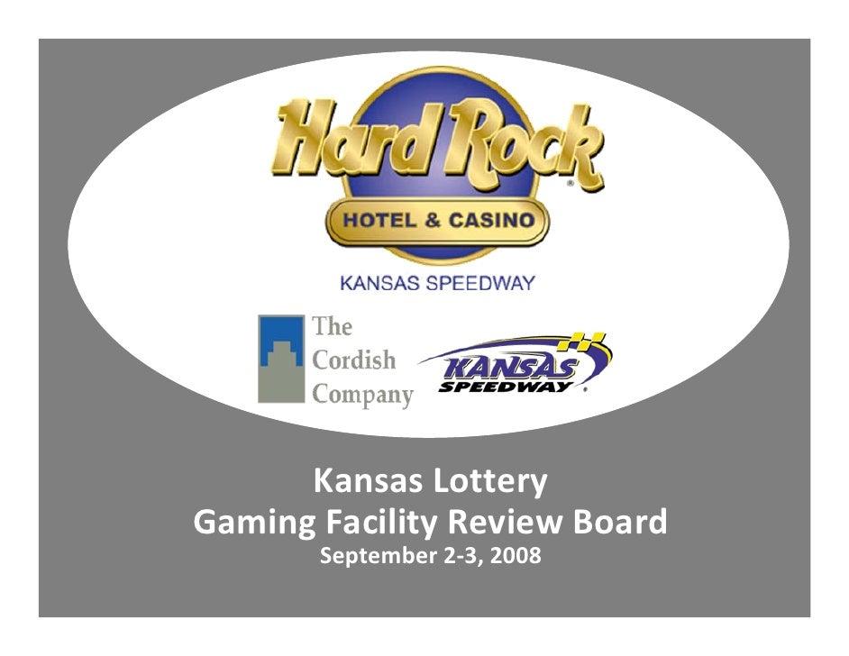 KansasLottery GamingFacilityReviewBoard        September2‐3,2008