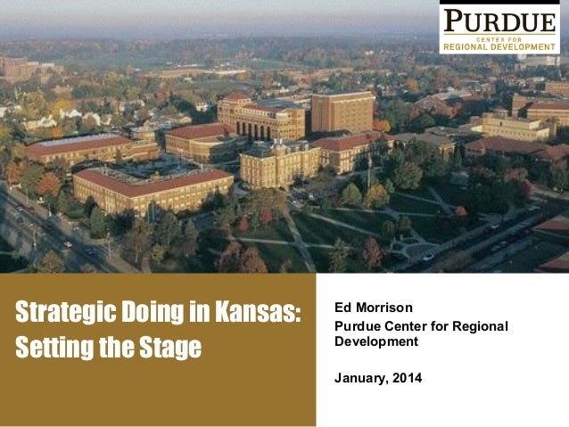 Kansas Introduction to Strategic Doing | May 2014