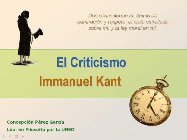 Kant 2.0