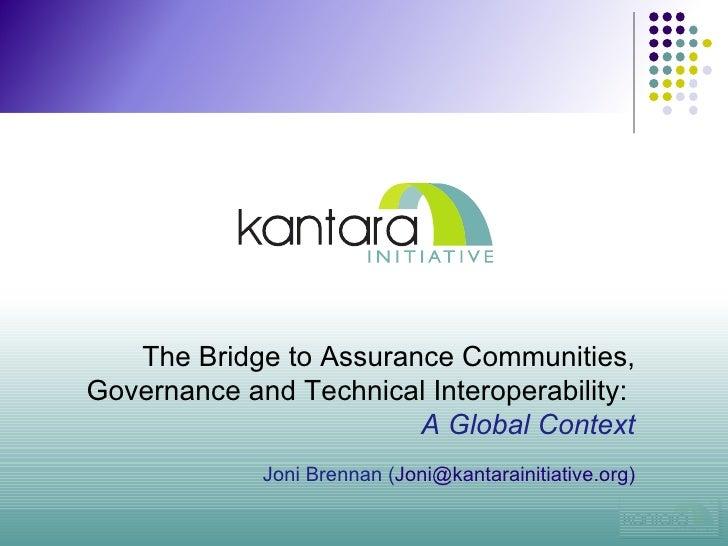Kantara a Global Context 2011
