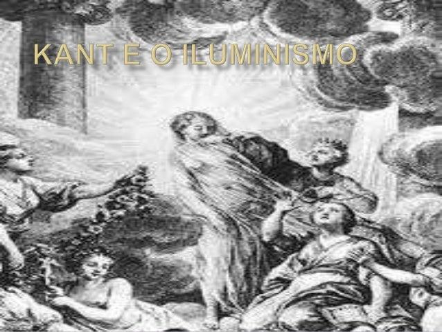 Kant e o iluminismo